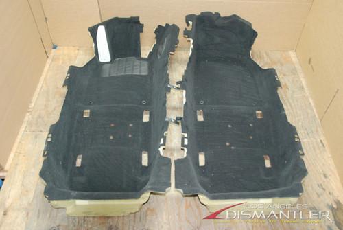 Porsche 911 991 Coupe Floor Cover Lining 99155101100 GDE Carpet Trim Mat Panel