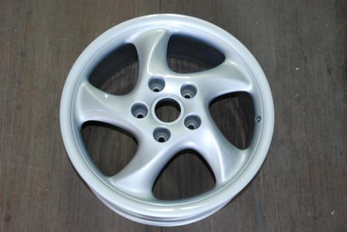 """Porsche 993 911 Turbo Twist Wheel 7.5x18 ET50  99336213406 18"""" Rim"""