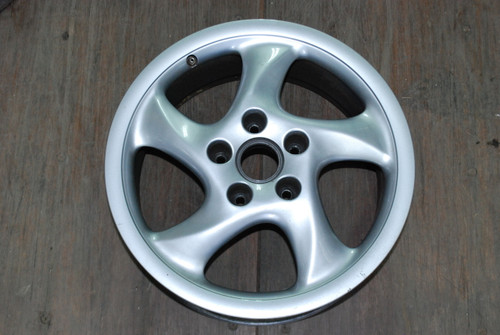 "Porsche 911 993 Turbo Twist Hallow Spoke Wheel OEM 7.5x18 ET50 99336213405 18"" Rim"
