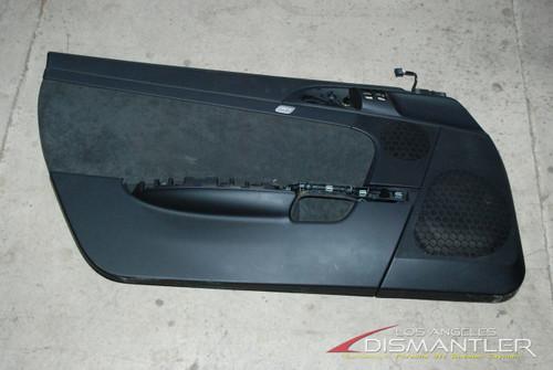 Porsche 911 997 987 Carrera Boxster Pair Left Right Black Door Panels Trim