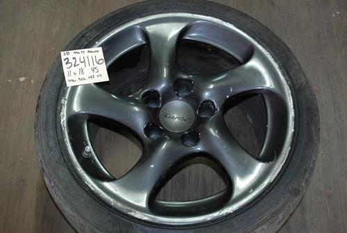 Porsche 911 996 Turbo Twist Hallow Spoke Wheel  11x18 ET45  99636214203