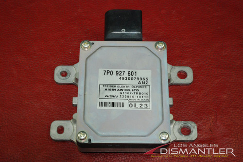 Porsche 958 Cayenne Hydraulic Gear Oil Pump Control Unit Sensor Module 7P0927601