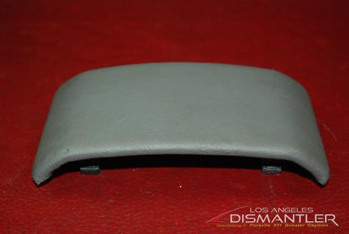 Porsche 911 996 Carrera Center Console Trim Leather Gray 99655212700 OEM