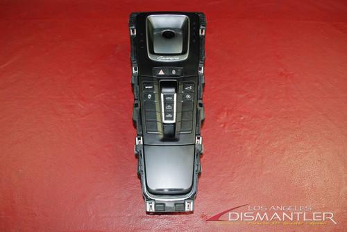 Porsche 911 991 Carrera Center Console Switch Pack Controls Convertible Top