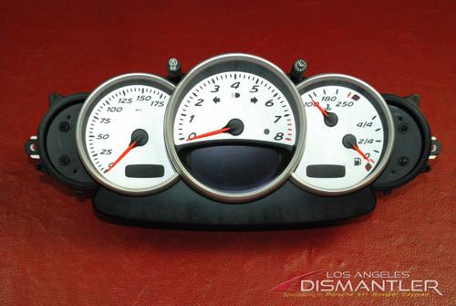 Genuine Porsche 986 Boxster Gauge Cluster Speedometer Odometer 98664123302 FHB