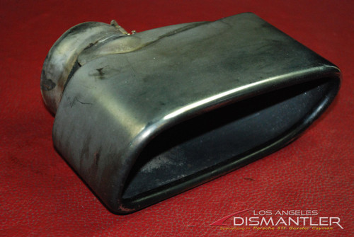 Porsche 911 997 Turbo GT2 RIGHT Passenger Exhaust Tip By Boysen