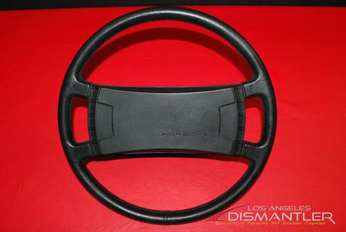 74-77 Porsche 911 912 911SC 930 Classic Leather Steering Wheel 400mm OEM