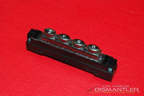 Porsche 911 996 986 Boxster Memory Seat Switch Control 99661310301 OEM
