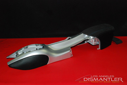 Porsche 986 Boxster Leather & Alcantara w/ Blue Stitching Center Console 98655290200