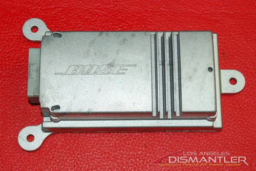 Porsche 911 981 Boxster Cayman Bose Subwoofer Additional Amplifier Amp 9P1035465