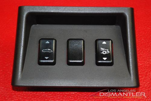Porsche 911 993 Center Console Switch Bezel & Switches 99363227100
