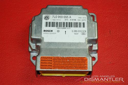08-10 Porsche 957 Cayenne Airbag Sensor Control Unit 7L0959655A Air Bag Module