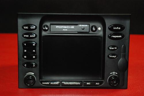 Porsche 911 996 Carrera 986 Boxster Navigation Head Unit PCM Radio Cassette OEM