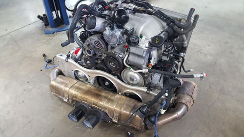 Porsche 911 997 GT3 2007 Complete Motor Assembly Used Engine 3.6 Liter (No Exhaust)