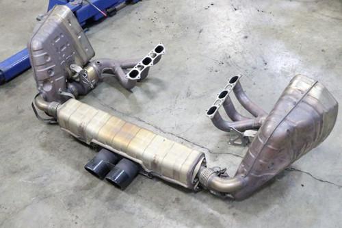Porsche 911 991 GT3 Original OEM Exhaust System Mufflers Center Tip Cats