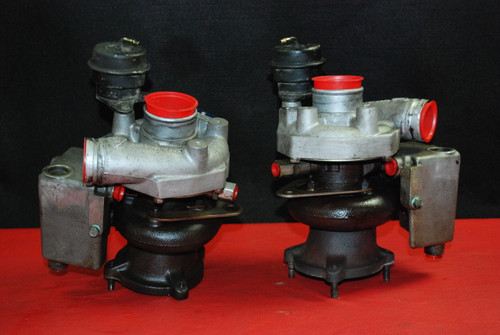 Porsche 911 996 Turbo Charger Turbochargers BorgWarner K16 Pair Left Right OEM
