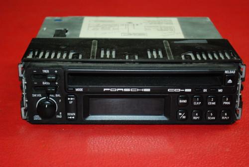 Porsche 911 964 993 Carrera CD-2 Radio Stereo AM FM CD Unit + Code 54A90727F02-A