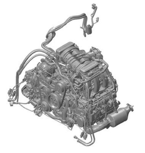 Porsche 981 Cayman Boxster 2.7 Liter DFI Complete Engine Motor Used MA1.22