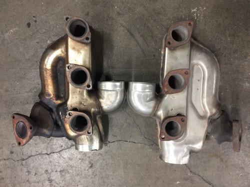 Porsche 911 993 Twin Turbo Headers Heat Exchangers Pair Left Right Factory OEM