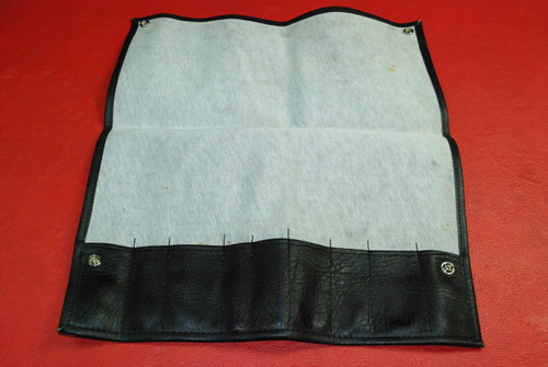 Porsche 911 964 Carrera Vintage Black Vinyl Tool Bag FACTORY ORIGINAL OEM 89-94