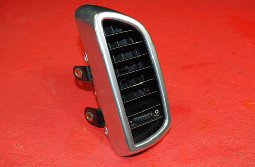 Porsche 958 Cayenne GT Left Driver's Side Outer AC / Heat Vent Air Duct Silver