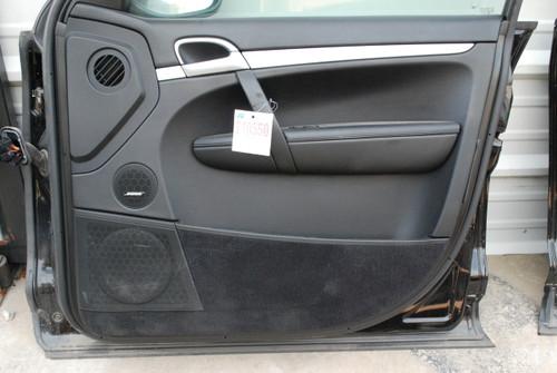 Porsche 957 Cayenne Front Right Passenger Side Interior Door Panel Trim 08-10