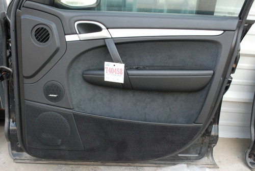 Porsche 957 Cayenne Front Right Passenger Side Interior Door Panel Trim 2008 -' 10