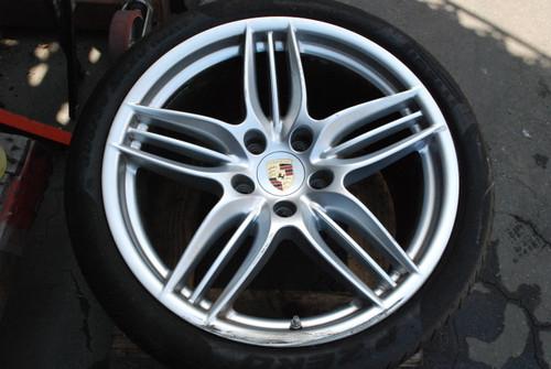 "Porsche 991 Sport Design II Wheel 11x20 ET52 99136216633 OEM 20"" Rim"