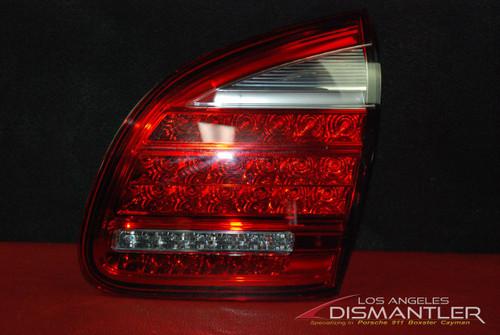 11-14 Porsche 958 Cayenne Pass Right Inner Tail Light Gate Trunk Lamp OEM