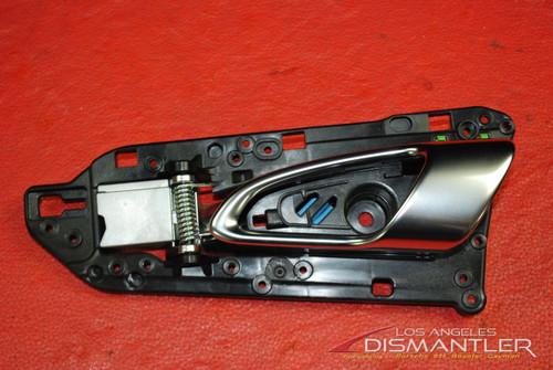 Porsche 911 991 Interior Inside Door Handle Left Driver Side 991.555.521.01 OEM