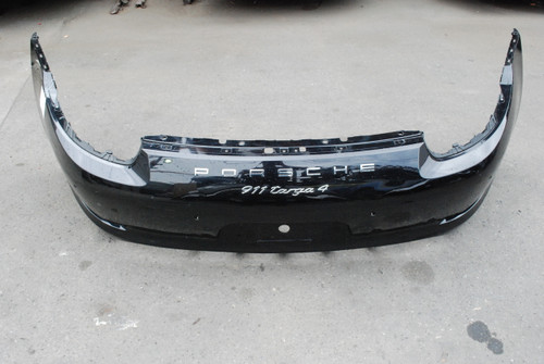 Porsche 911 991 Targa 4 Factory Rear Bumper Cover Trim 99150541105 99150541107