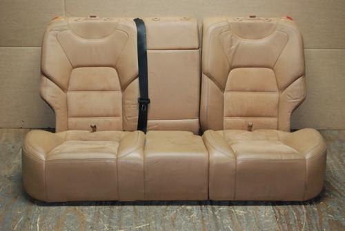 Porsche  957 Cayenne Rear Seats Tan Alcantara Factory OEM  (3 pieces)