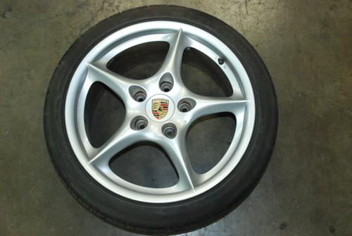 Porsche 911 996 My02 Carrera Wheel Rim Front 8x18 ET50 996.362.136.03 OEM
