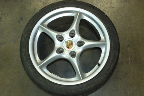 Porsche 911 996 My02 Carrera Wheel Rim Front 8x18 ET50 99636213603 OEM