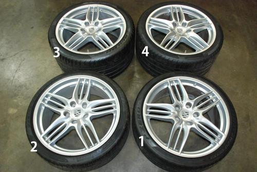 Porsche 911 991 Carrera Sport II Wheel Set (4) Rims 8.5x20 ET51 11x20 ET70 OEM