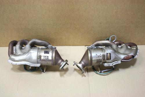 Porsche 981 Boxster Exhaust Manifolds Factory Headers 98111321201 / 98111321101