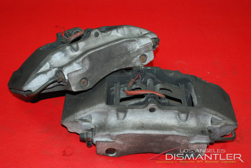 Porsche 911 996 986 Boxster S Rear Left and Right Brake Calipers Brembo OEM