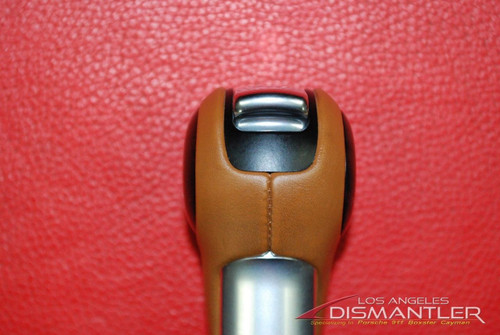 Porsche 911 997 991 981 PDK Automatic Shifter Knob Brown w/ Wood 9G1.426.069.04