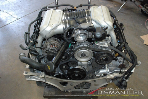 Porsche 997 911 Carrera S 4S 3.8L Complete Engine Motor M97.01