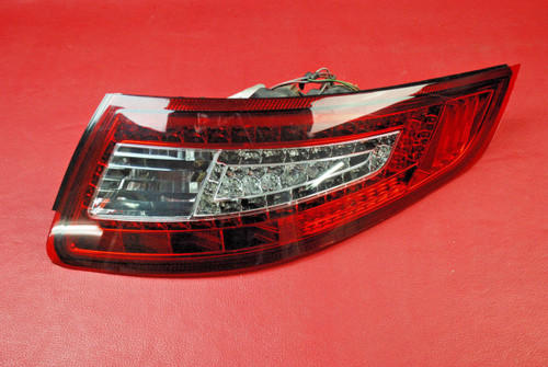 Porsche 911 997 LED Tail Light Lamp aftermarket Passenger R w/Harness
