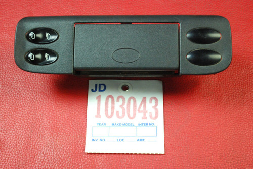 Porsche 996 911 986 Boxster Center Console Window Switch Trim Ashtray Buttons