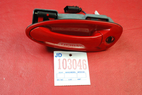 Porsche 997 911 987 Boxster Cayman Left Driver Side Exterior Door Handle Lock