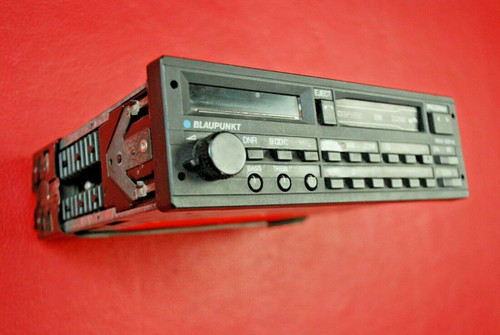 RARE Original Porsche Blaupunkt Reno SQR 46 Radio Head Unit w/Owners Manual 911