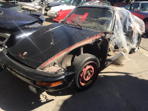 1970 911 turbo look black