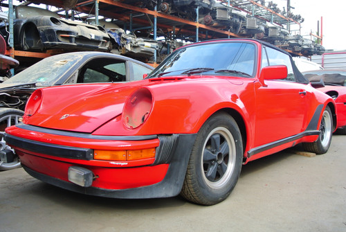 1978 911 930 Red turbo look