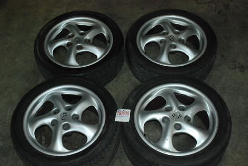 """Porsche 911 996 17"""" Wheel Set Rims 7Jx17 ET - 55"""