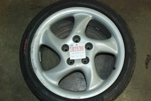 "Porsche 911 993 18"" Wheel Single Rim 8Jx18 ET - 55"