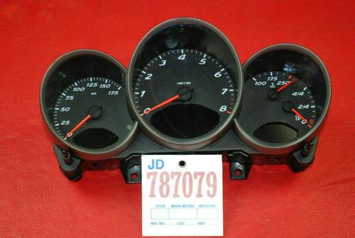 Porsche 987 Boxster Cayman Gauge Cluster Speedometer Odometer 98764130503 D07.