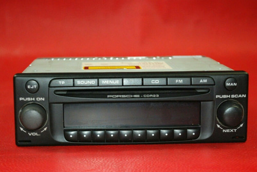 Porsche 911 996 986 Becker CDR23 Radio Head Unit 99664512906
