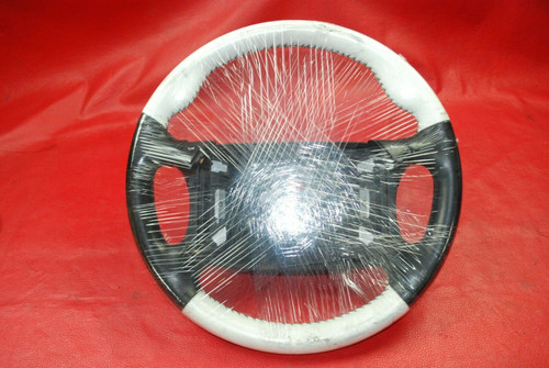 Porsche 911 964 White Leather Steering Wheel 96434708400
